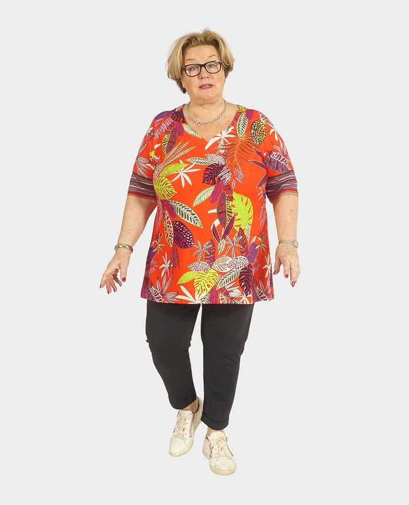 t-shirt tulphals print Twister