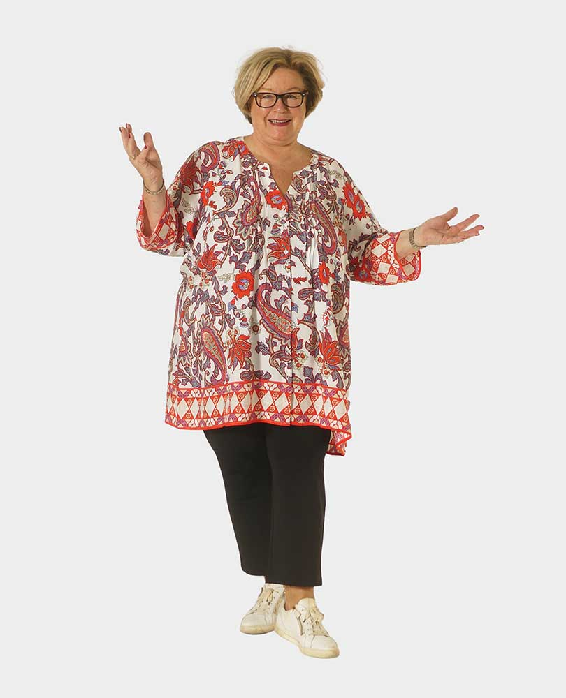 blouse paisleyprint Frapp