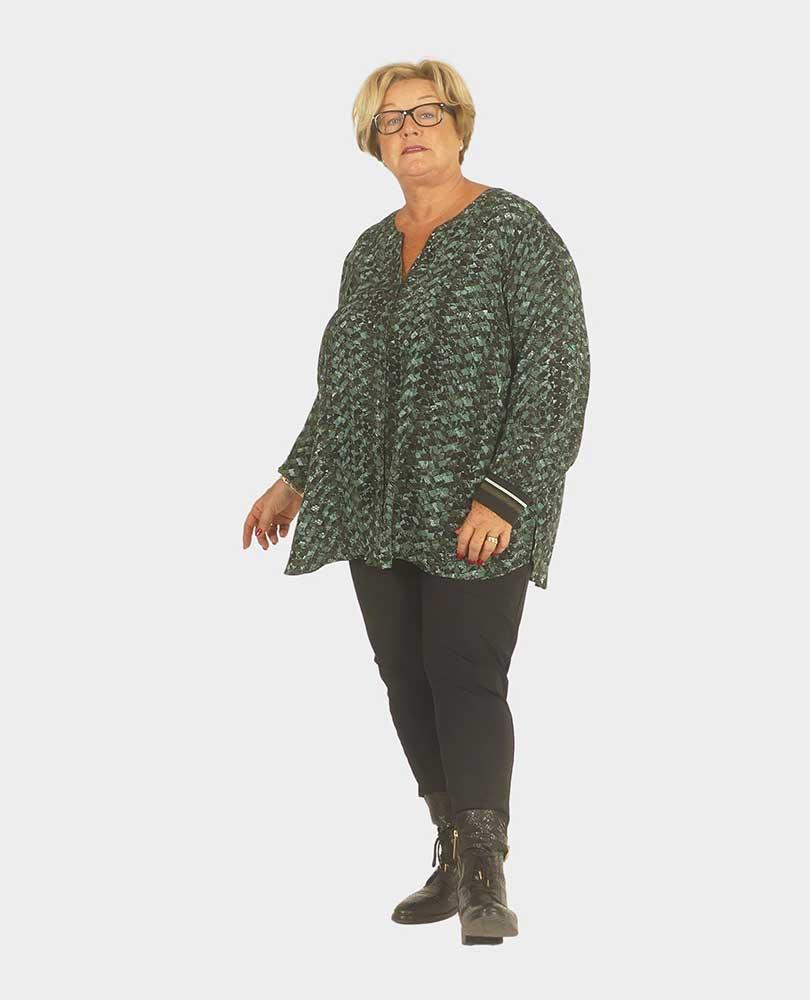 blouse print Frapp