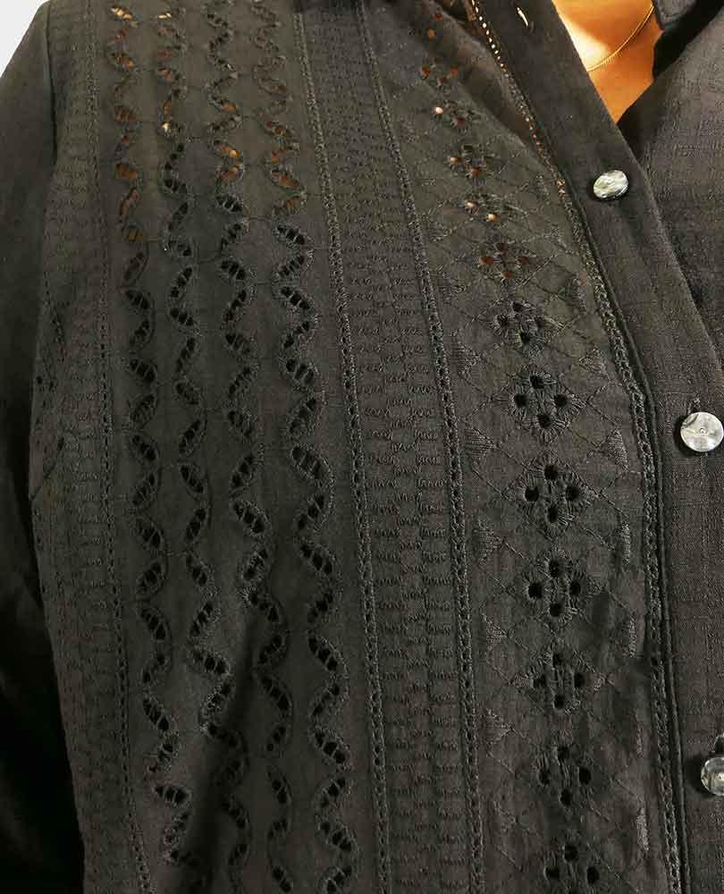 blouse opengewerkt Zoey