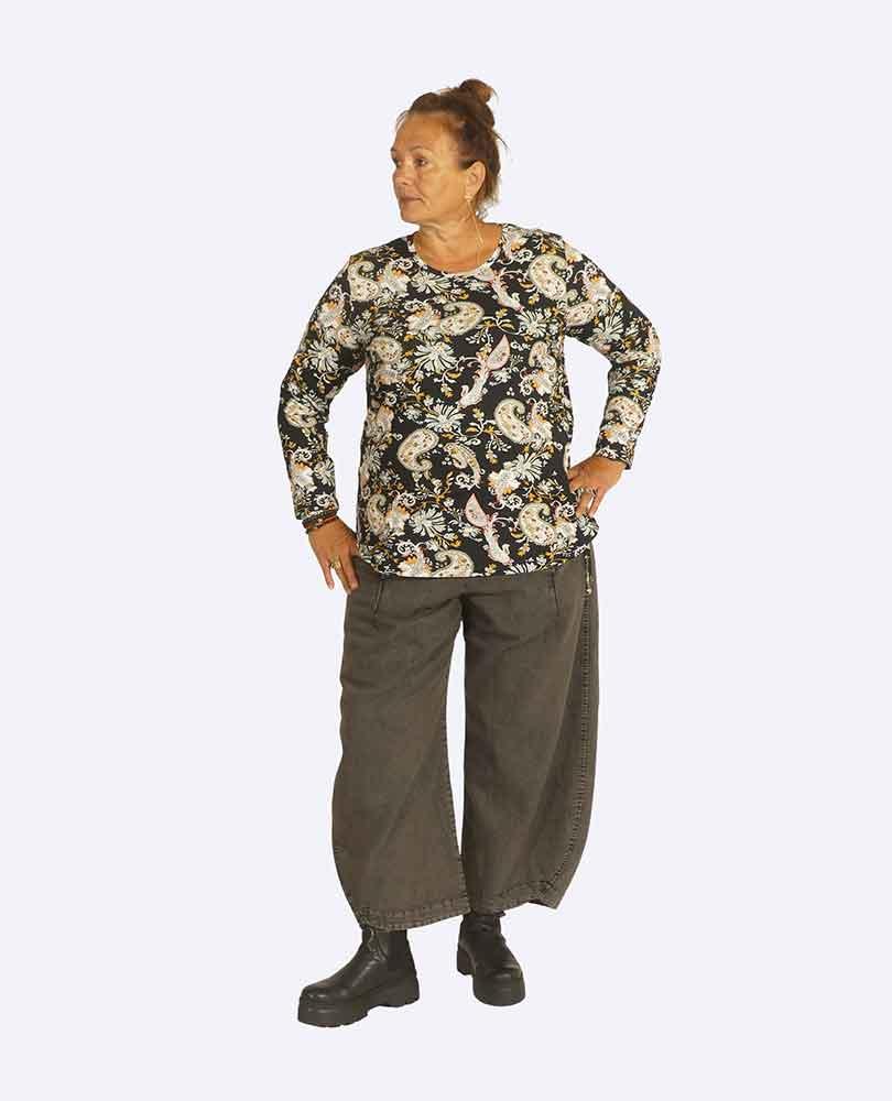 shirt tricot paisley No Secret