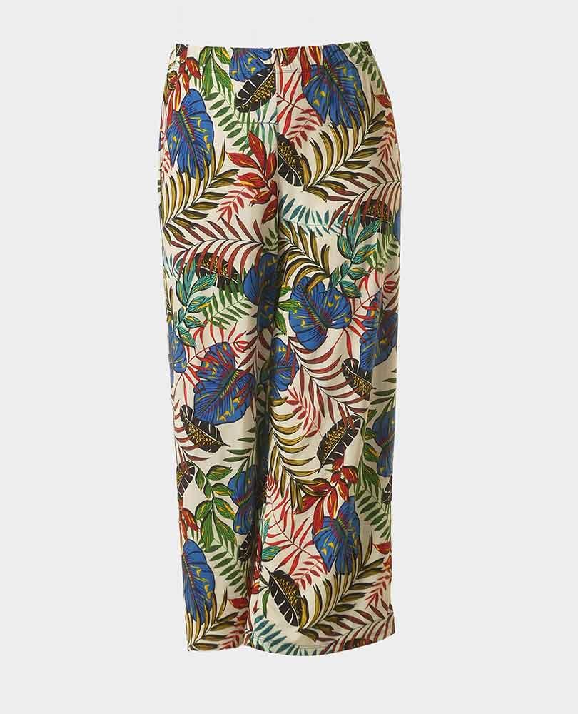 pantalon wijd print Twister