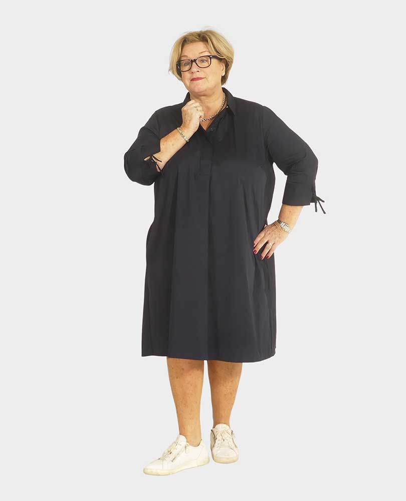 jurk stretch a-lijn Frapp