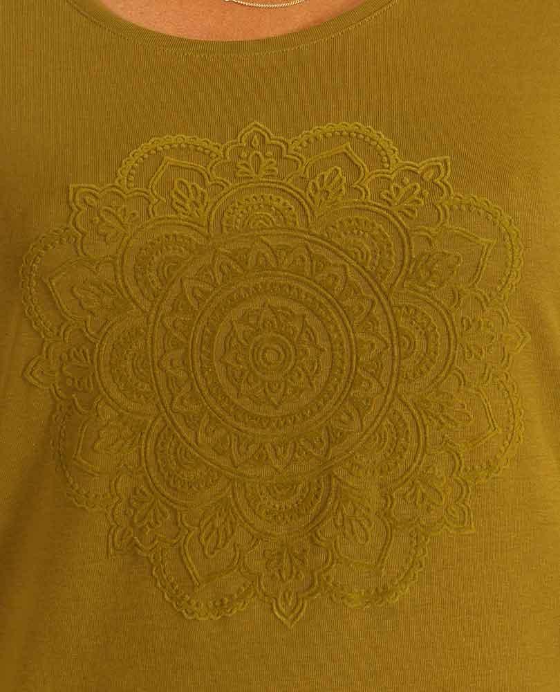 shirt heavy tricot flockprint Frapp