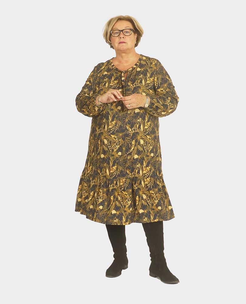 jurk tricot print No Secret
