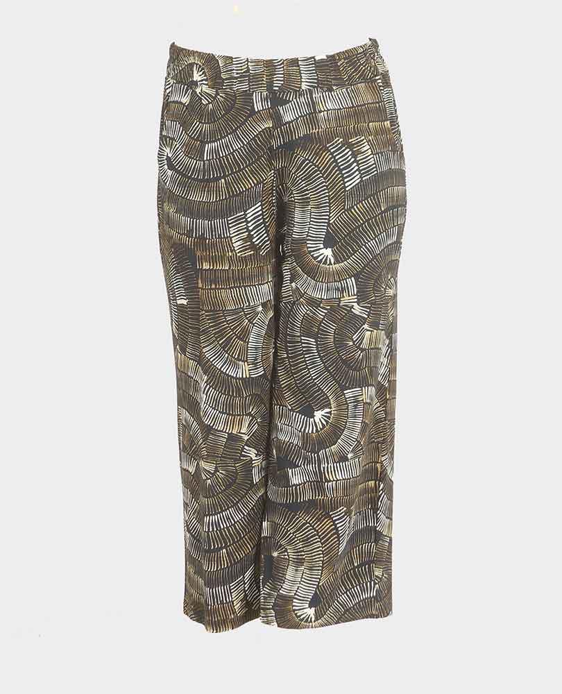 pantalon wijd print Ciso