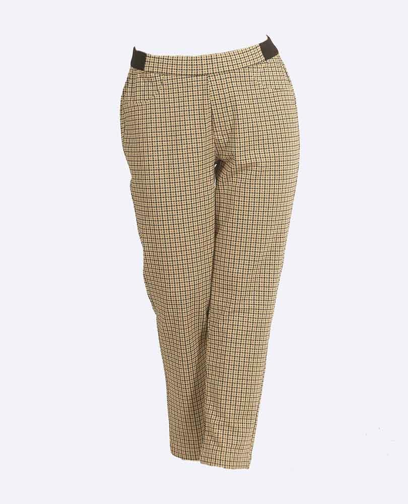 pantalon tricot ruit Due