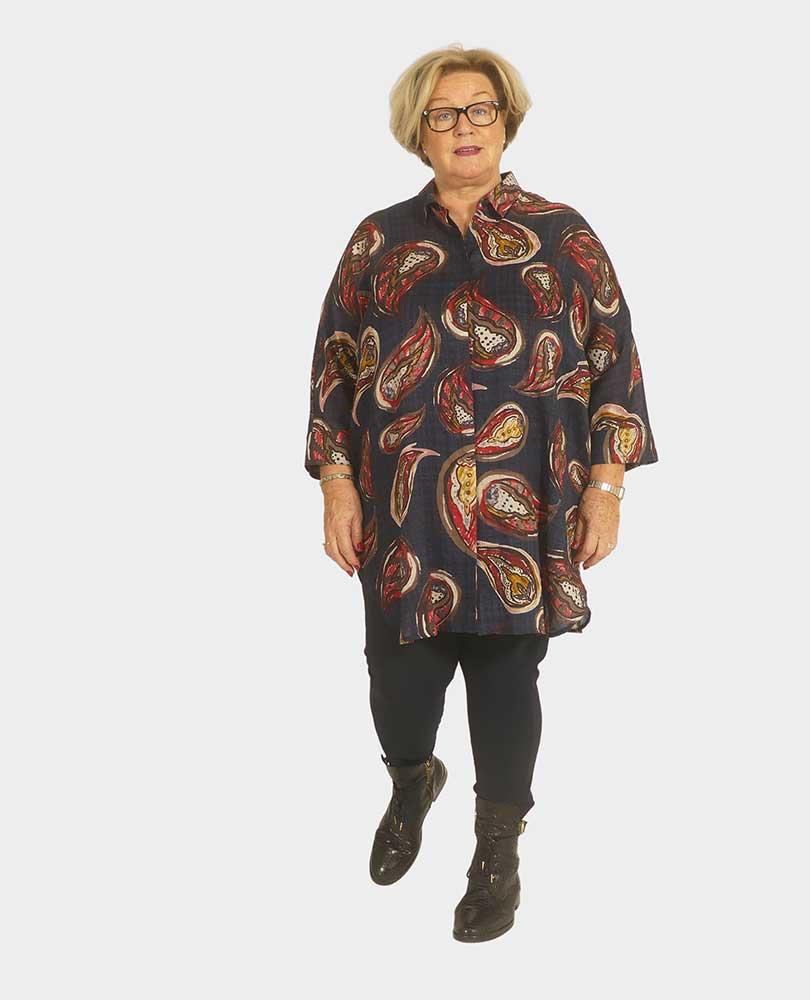 blouse print paisley Q`neel