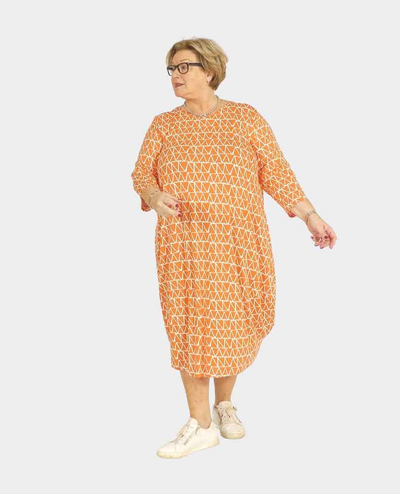 jurk tricot print Q'neel