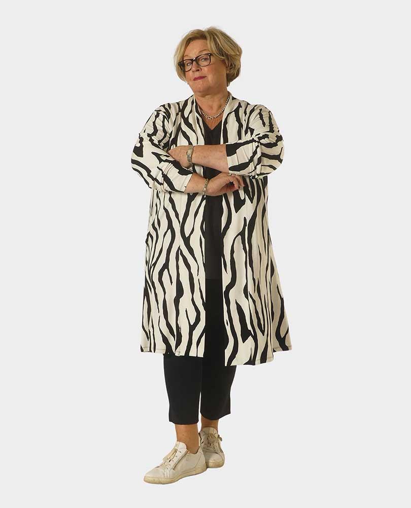 vest zebraprint Twister