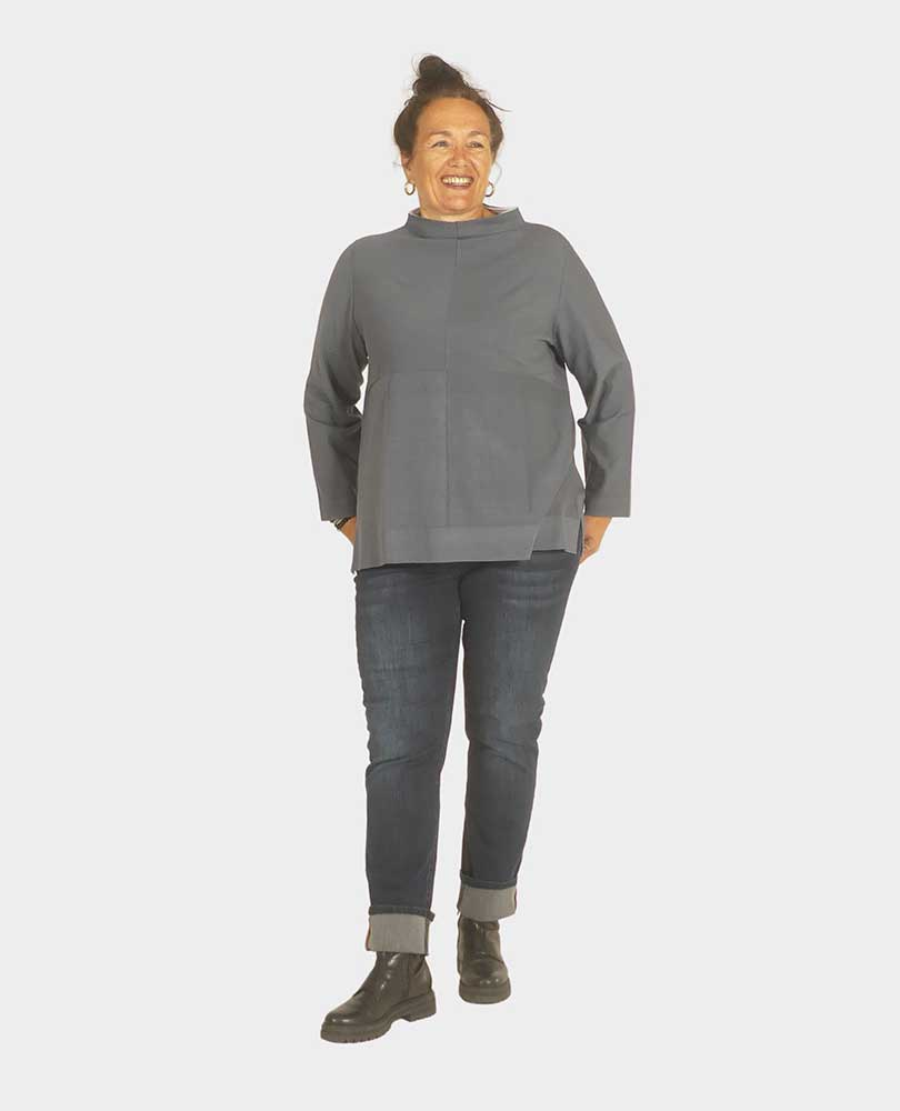 trui gebreid 2-kleur Vetono