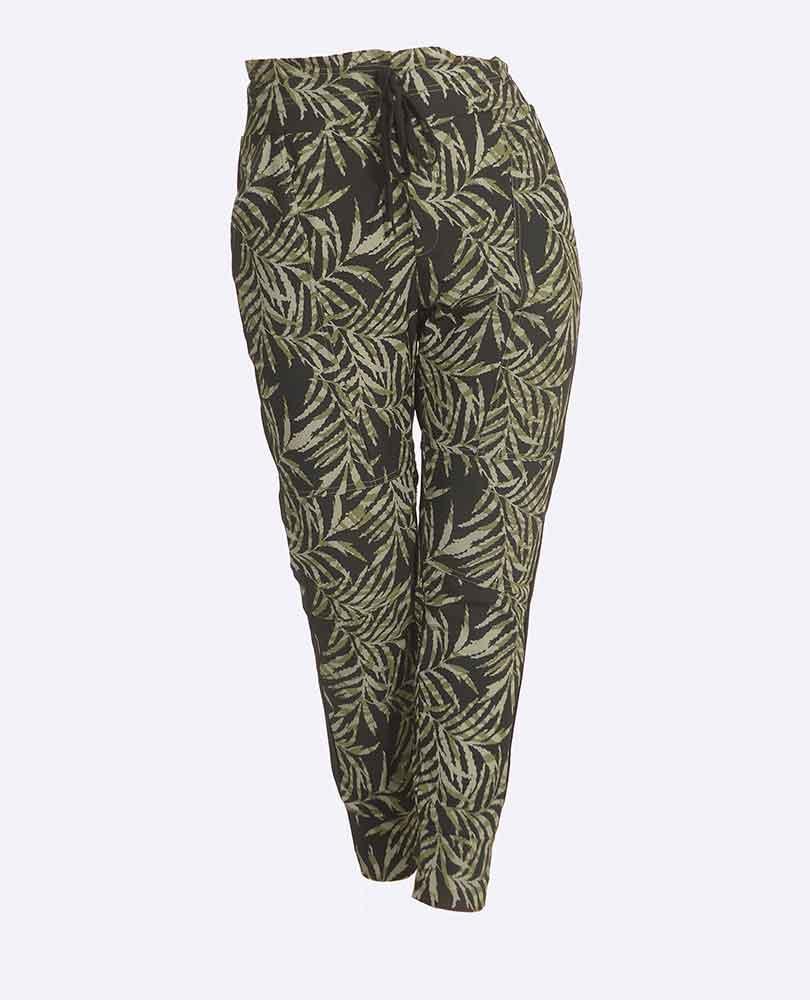 pantalon travel print Exxcellent