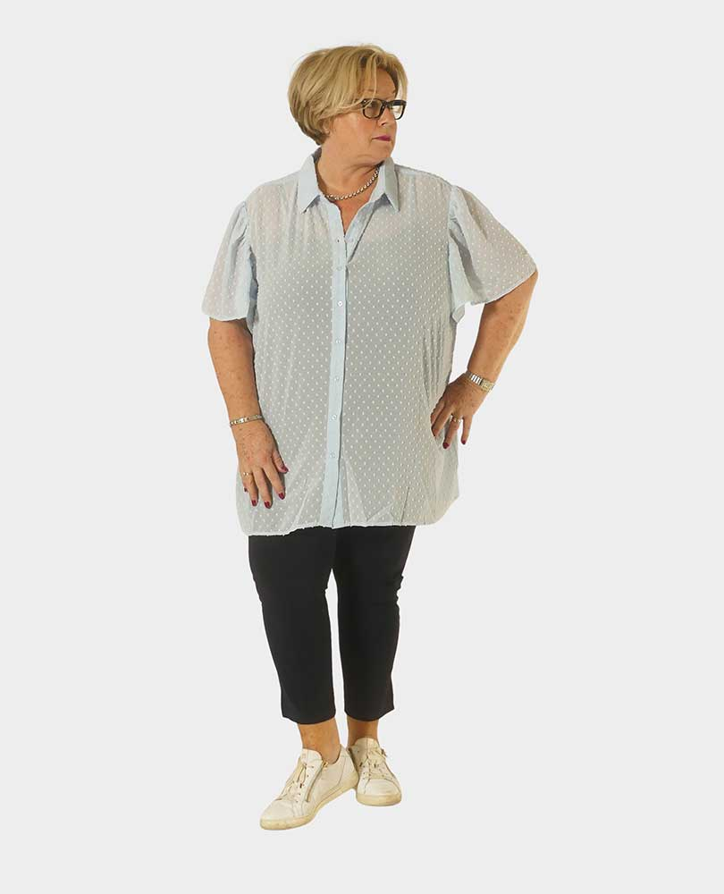 blouse bolletjes Exxcellent