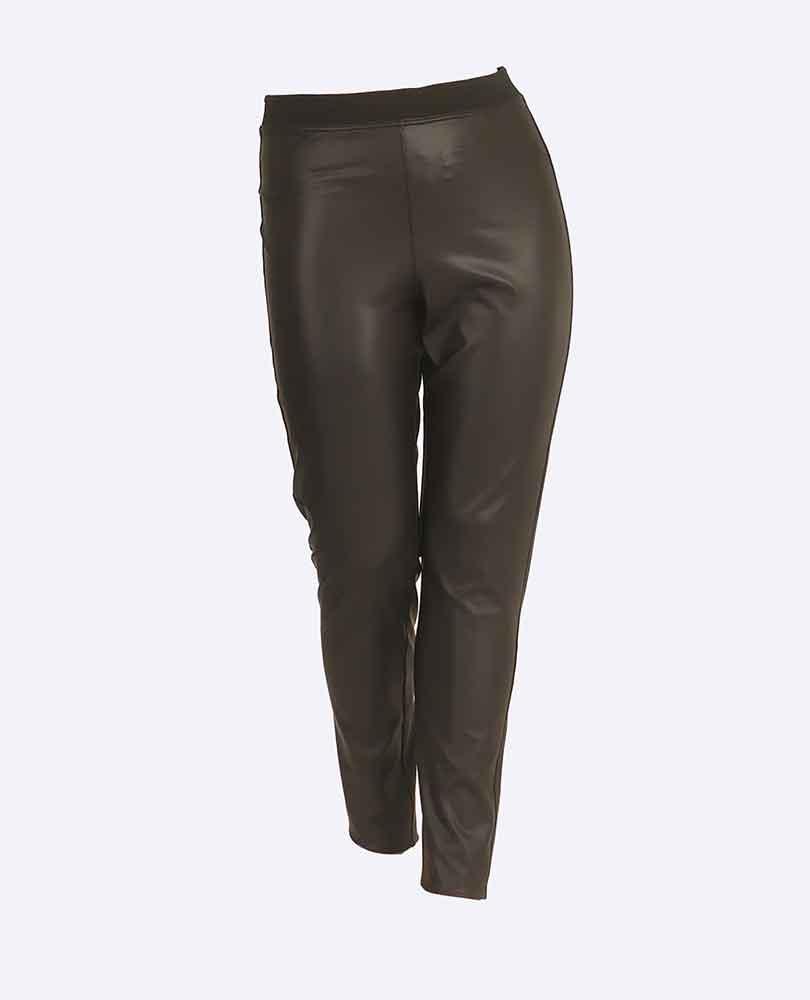 legging leatherlook Only M