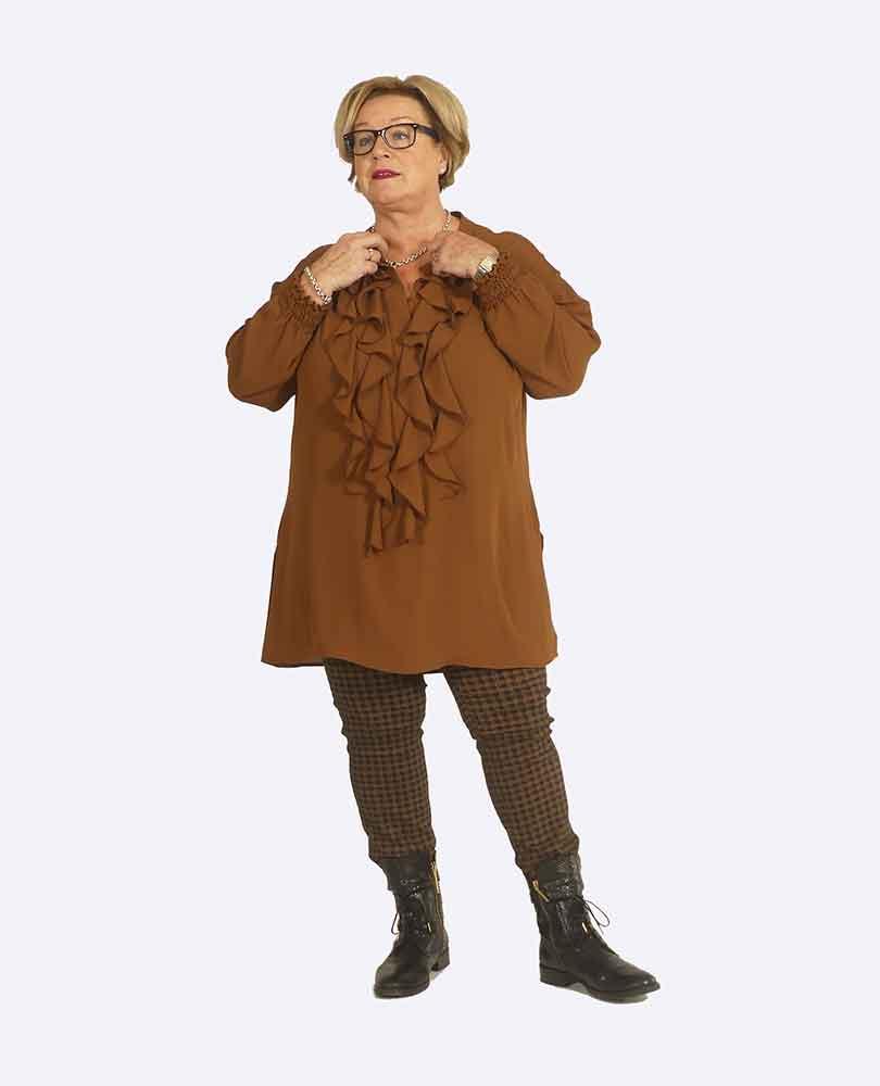 blouse roezels