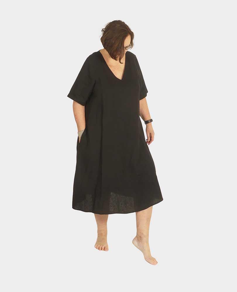 jurk linnen vh Portraits