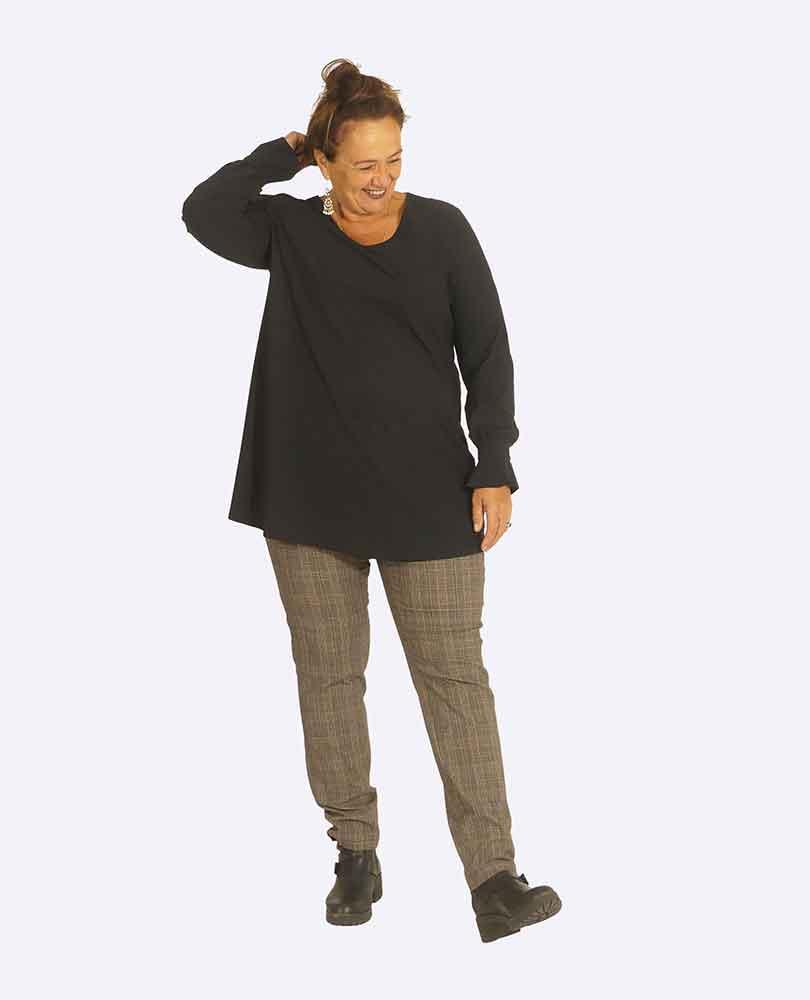 shirt ruches Plus Basics