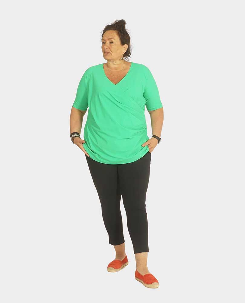 shirt travel overslag Plus Basics